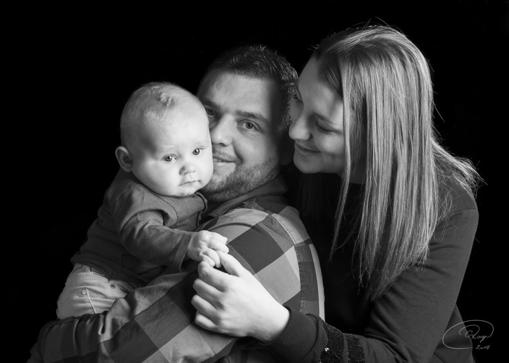 Portrait bebe et famille - Studio Bilande Philippeville