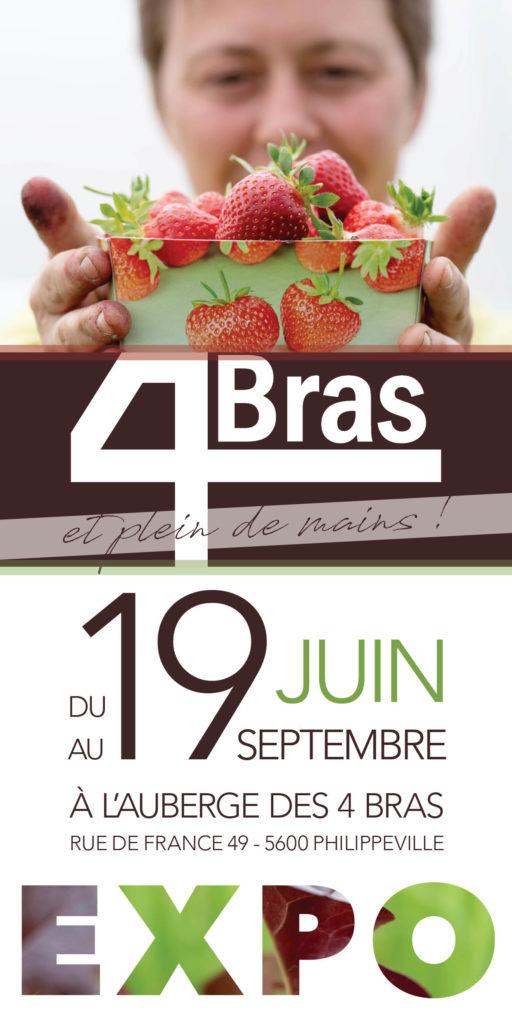 Exposition photo 4 Bras et plein de mains du 19 juin 2019 au 19 septembre 2019 par Olivier et Eliane Rayp - Studio Bilande
