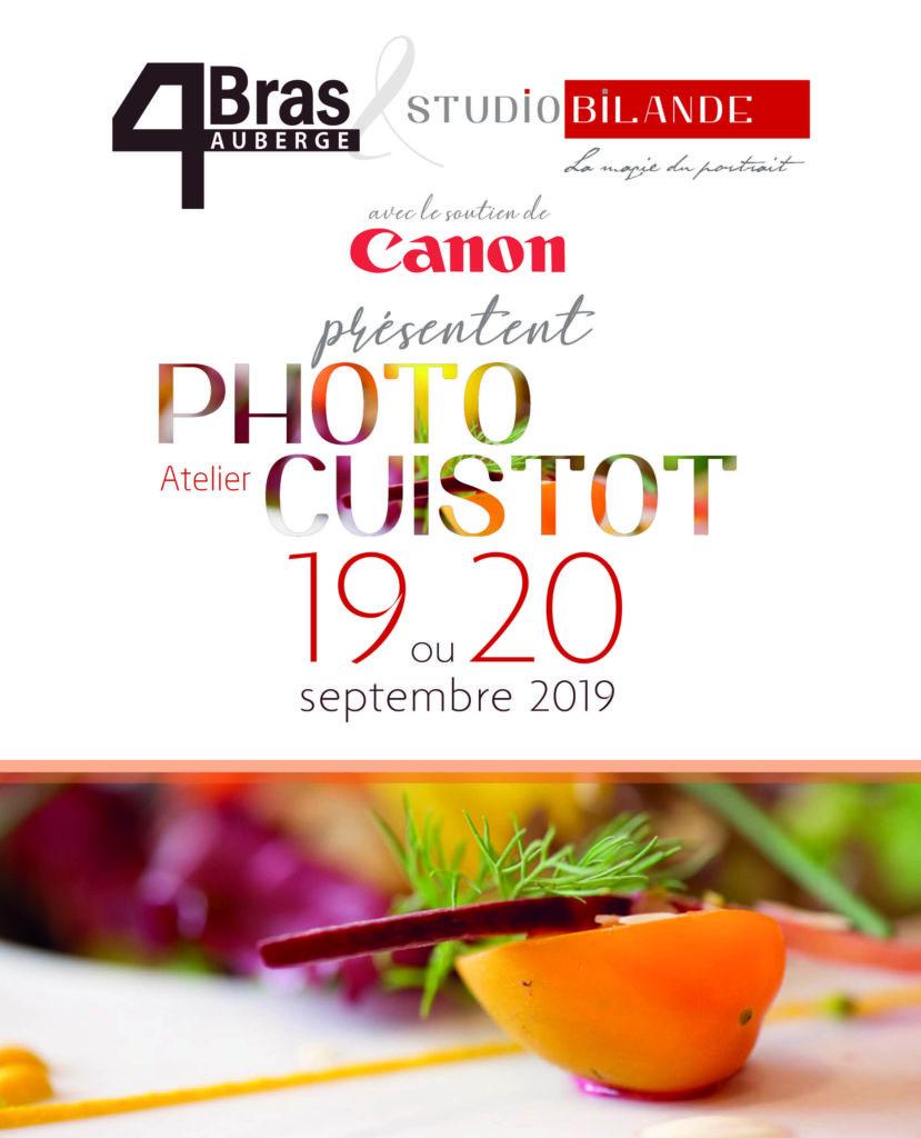 Atelier Photo le 19 et 20 septembre 2019 par Studio Bilande et l'Auberge des 4 Bras à Philippeville