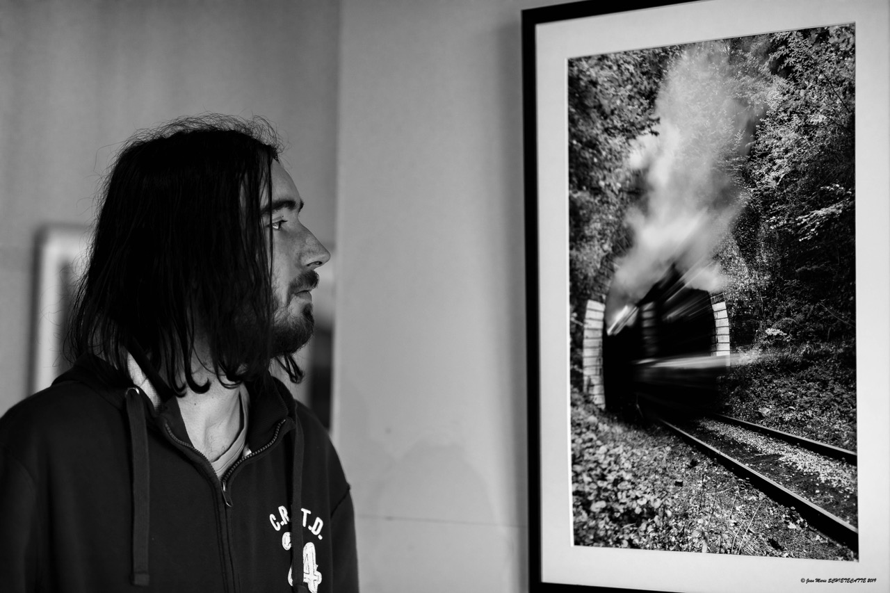 Le regard de l'artiste - Portrait par Jean-Marie Schietecatte